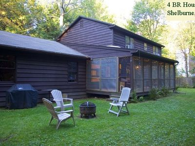 BACK YARD: with gas BBQ grill, movable fire pit, outdoor chairs, hammock.