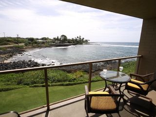 Poipu condo photo - Enjoy the beautiful ocean view from the lanai