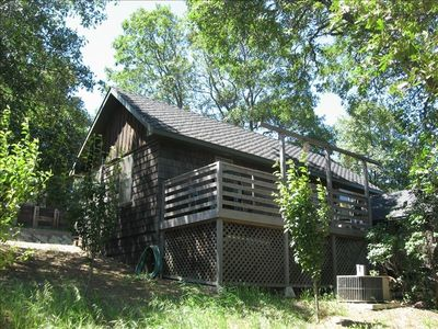 A quaint mountain hideaway in wooded julian vrbo for San diego county cabin rentals