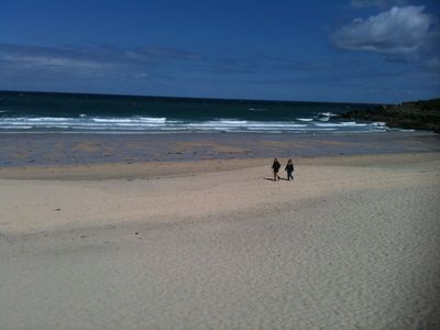 St Ives beaches are fantastic even in Winter