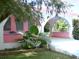 Vieques Island house photo - Front Porch of Coco Solo