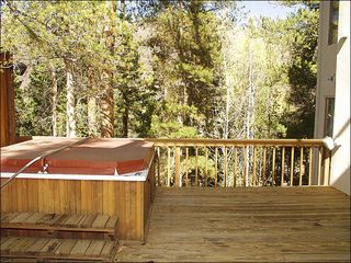 Vail house photo - Hot Tub Deck