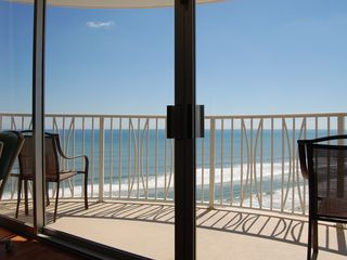 Daytona Beach condo photo - Incredible View While Relaxing From 2 Comfy Recliners With Your Feet Up