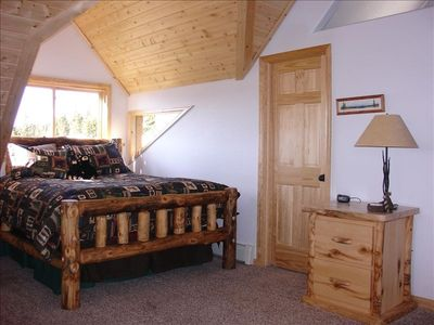 Upstairs Master Bedroom With Huge Walk-In Closet, Private Bath & Sitting Area!