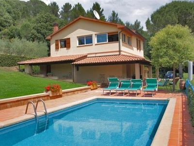 Holiday home for 8 people, with swimming pool, in Costa Etrusca