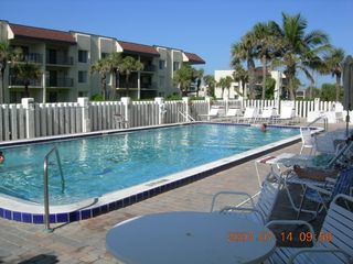 Oceanside Pool - Cocoa Beach condo vacation rental photo