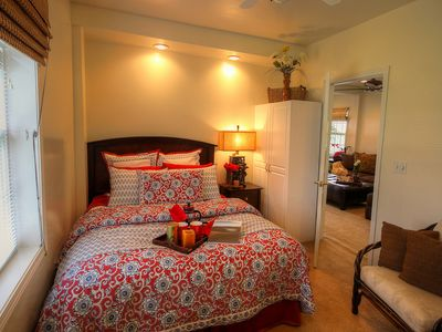 Waimea - Kamuela house rental - Guest Bedroom with Queen sized bed