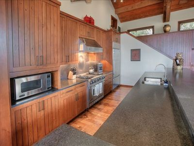 Teton Village lodge rental - Gourmet kitchen with custom furnishing and high-end appliances