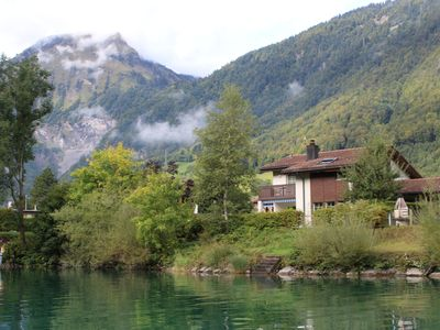 Lakeside Home in the Alps