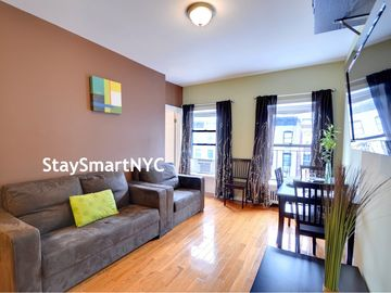 Murray Hill apartment rental - Apt #3F/4F/5F - Living Room