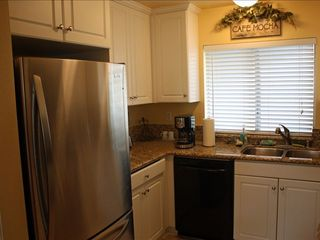 Dana Point condo photo - updated kitchen with granite countertops
