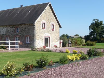 Holiday cottage 14 people in the Cotentin in Feugères