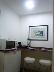 Ipanema apartment photo - Marble countertops with stools
