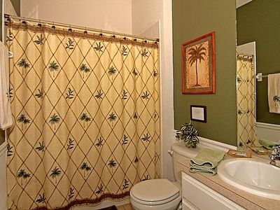 Updated Downstairs Ensuite Bathroom
