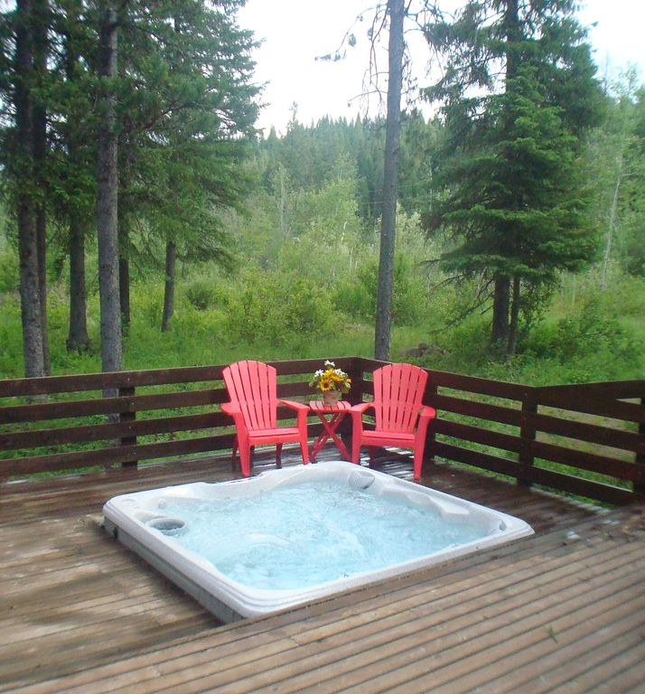 Enjoy a hot tub any time you want!