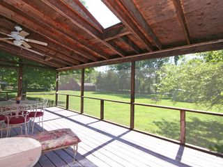Redding cottage photo - screened porch