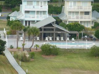 Mainsail Resort condo photo - North pool (heated) and cabana