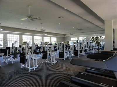 OUR BEAUTIFUL FITNESS CENTER...