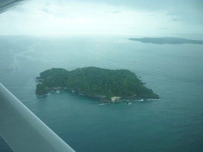 View of neighboring islands