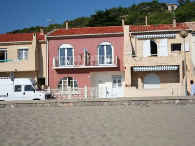 RENT T2 - LEUCATE BEACH - FRONT OF MER-