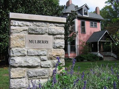 Welcome to Mulberry House, an upscale 1000-sq.-ft. private guest cottage...