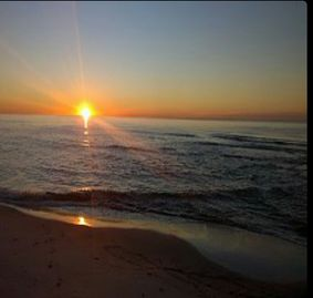 Ono Island Orange Beach condo rental - My favorite way to wake up each morning. Up early this will be your view