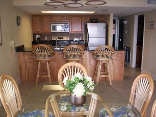 Indian Shores condo photo - Updated Dining Room and Kitchen