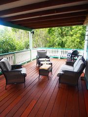 Fish Bay cottage photo - Outdoor Seating and Grill Area