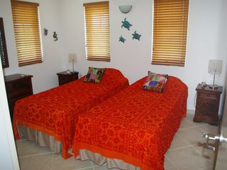 Bonaire villa photo - The other master bedroom !