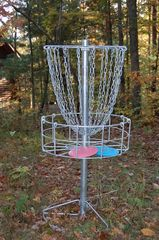 Jamestown cabin photo - Two professional-grade disc golf baskets