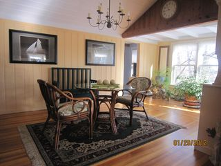 Cape Elizabeth cottage photo - Dinning room
