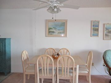 .Dining Table with 6 chairs.