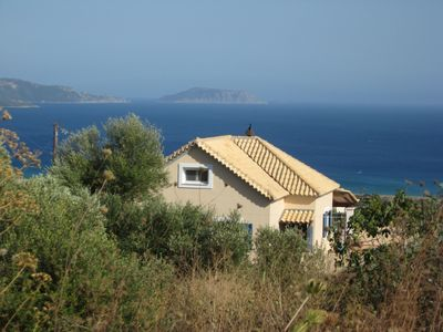 Beautiful villa with superb views on the sea in the south Peloponnese
