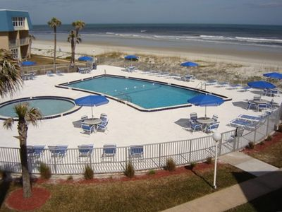 Ocean Front Pool - A wonderful spot to read, enjoy sea breezes, make new friends