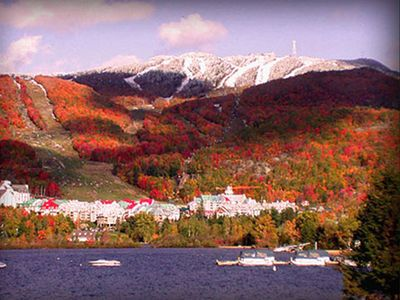 Tremblant mountain in Fall