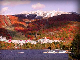 Mont Tremblant condo photo - Tremblant mountain in Fall