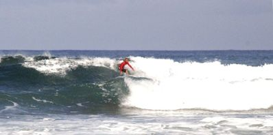 Surfing at Maria's Beach