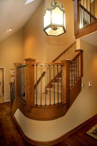 Beaver Creek house rental - Entry on main level with stairs to upper level