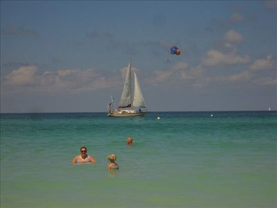 Boat, Sail, Swim,  Parasailing Rides,Water Sports & more right out your door!