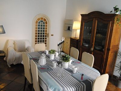 Colosseum area apartment rental - Trevi dining