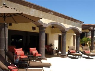 San Jose del Cabo house photo - Relax by the pool in the covered area or sunshine.