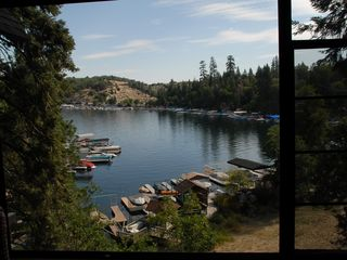 Lake Arrowhead house photo - View from the den.