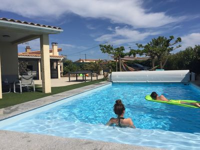 PROMO 2 A 10 PERS. PRIVATE HEATED SWIMMING POOL, SEA 80 M, 700M2 OF LAND