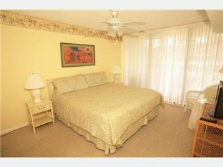St. Augustine Beach condo photo - Owner''''''''s Suite Opens to Beach Views
