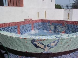 Santo Domingo hotel photo - Hotel Dona Elvira jacuzzi and massage terrace