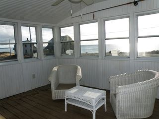 Truro house photo - 3 season porch with beautiful views!!!