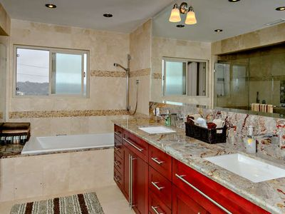recently remodeled master bath $40,000 was spent!