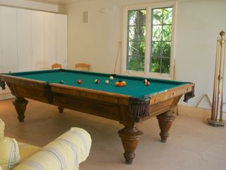 Santa Barbara house photo - Shoot pool on our full-sized pool table in our finished garage.