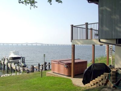 Bay view from rear patio
