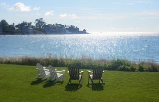 Kennebunk Beach house photo - Beautiful Backyard View
